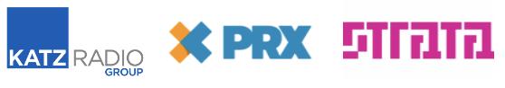 Katz, RadioExchange, Strata logos
