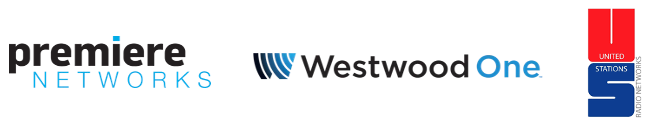 Premiere Networks, Westwood One, United Stations Logos