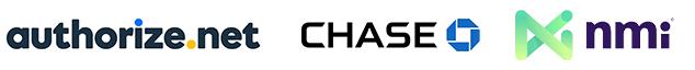 authorize.net, chase, mmi logos